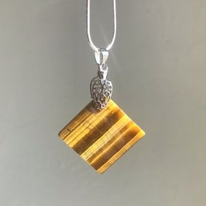 Courage, Power, Integrity & Luck! Tigers Eye